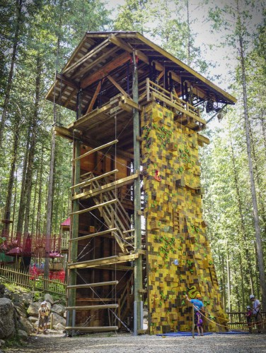 Best adrenaline activities in BC: The Adventure Tower @ SkyTrek Adventure Park