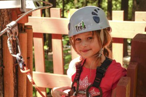 Fun kids games at SkyTrek Adventure Park, Revelstoke