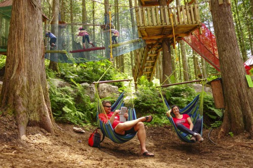 For the less adventurers of our guests we have hammocks! :)