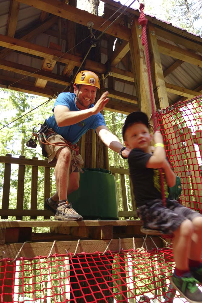 Our guides will keep an eye and entertain your little ones at the Kids Jungle Gym, but a guardian is still required :)
