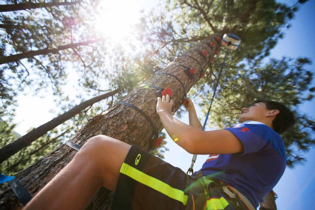 The Sky Climb @ SkyTrek Adventure Park, British Columbia: a Revelstoke attraction for kids and families.